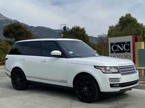 2016 Land Rover Range Rover Supercharged:11 car images available
