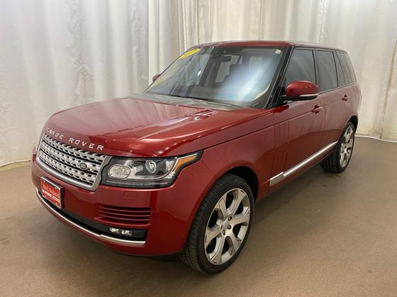 2017 Land Rover Range Rover Supercharged:18 car images available