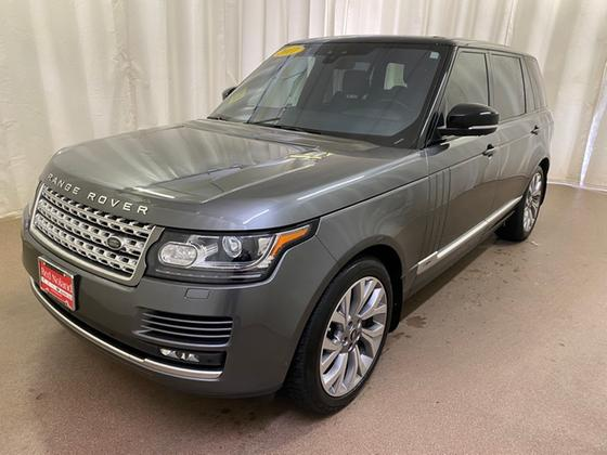 2017 Land Rover Range Rover Supercharged:19 car images available