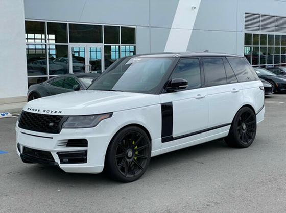 2018 Land Rover Range Rover Supercharged:15 car images available