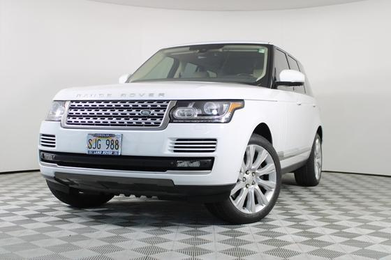 2014 Land Rover Range Rover Supercharged:12 car images available