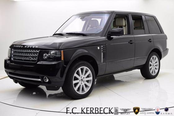 2012 Land Rover Range Rover Supercharged:24 car images available
