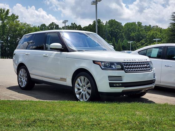 2016 Land Rover Range Rover Supercharged:2 car images available