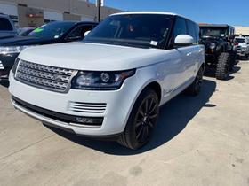 2017 Land Rover Range Rover Supercharged:4 car images available