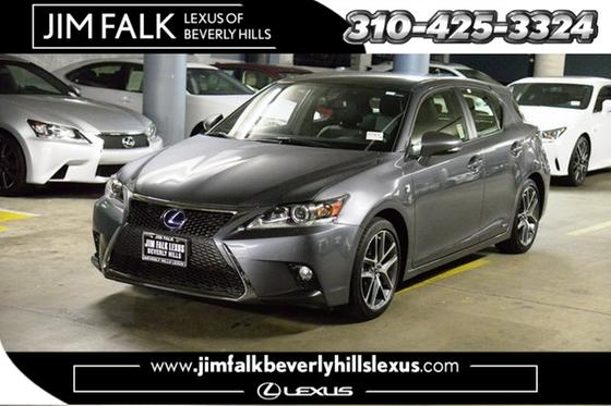 2016 Lexus CT 200h F-Sport:24 car images available
