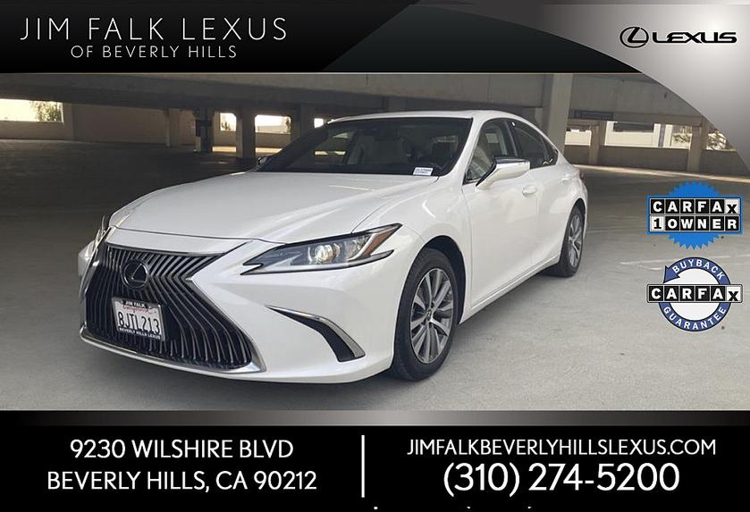 2019 Lexus ES 350:22 car images available