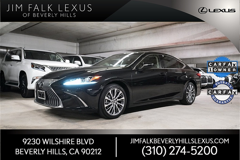 2019 Lexus ES 350:10 car images available