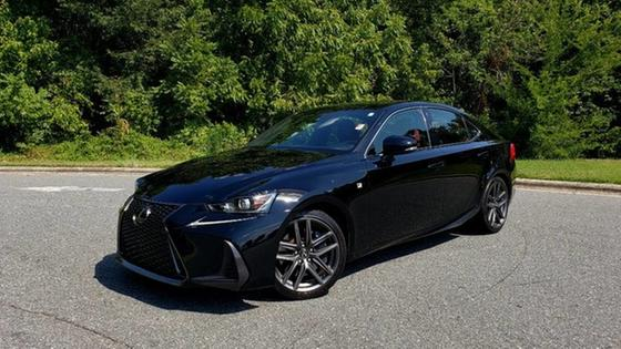 2017 Lexus IS 200t F Sport:24 car images available