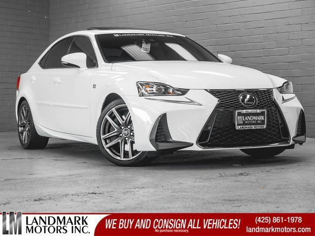 2018 Lexus IS 300 F Sport:24 car images available