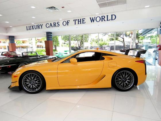 2012 Lexus LFA Nurburgring Edition:24 car images available