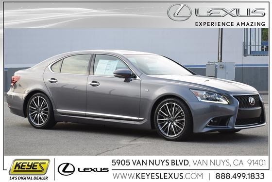 2014 Lexus LS 460:24 car images available