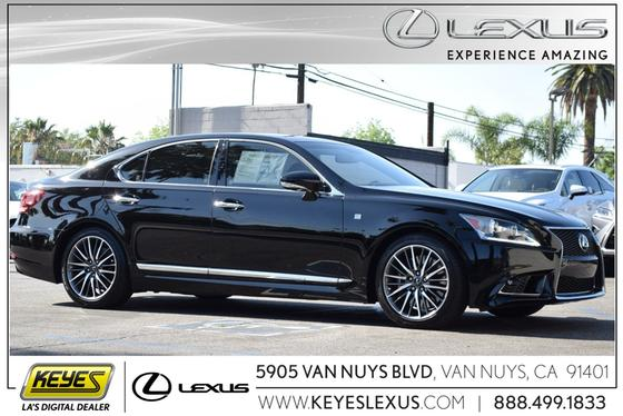 2015 Lexus LS 460:24 car images available