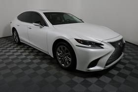 2018 Lexus LS 500:24 car images available