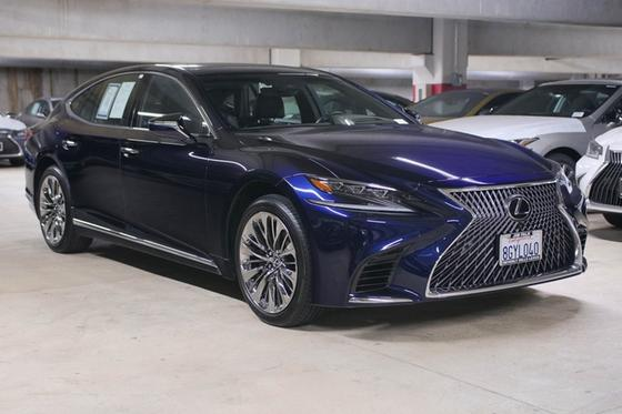 2019 Lexus LS 500:24 car images available