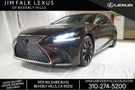 2020 Lexus LS 500:13 car images available