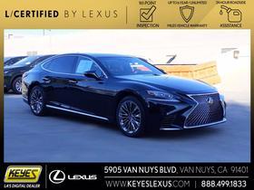 2018 Lexus LS 500:24 car images available