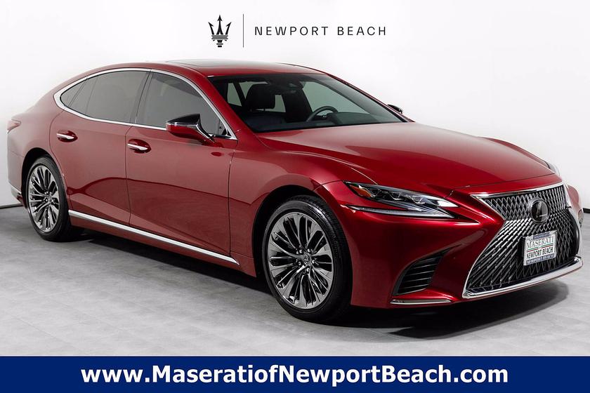 2020 Lexus LS 500:24 car images available