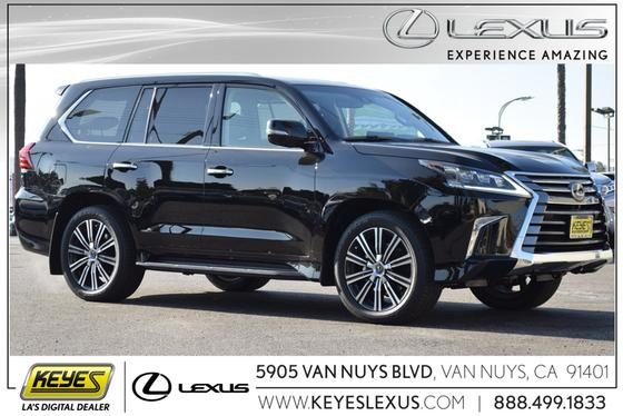 2019 Lexus LX 570:24 car images available