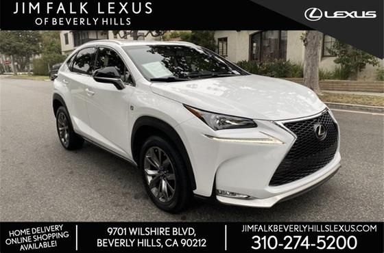 2017 Lexus NX 200t F Sport:14 car images available