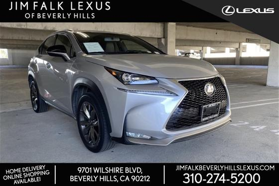 2017 Lexus NX 200t F Sport:16 car images available