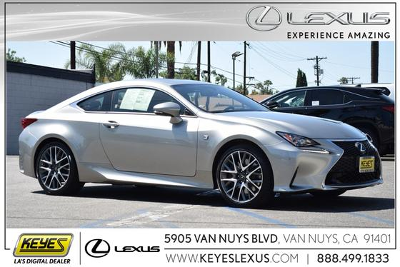 2016 Lexus RC 200t:24 car images available