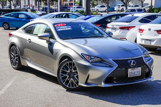 2017 Lexus RC 200t:24 car images available