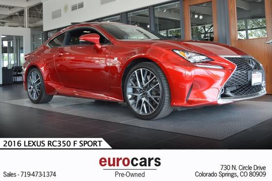 2016 Lexus RC 350:24 car images available
