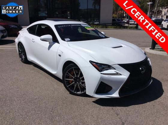 2016 Lexus RC F:18 car images available