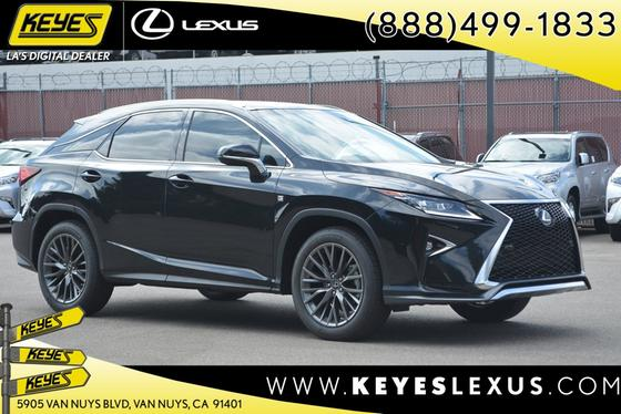 2017 Lexus RX 350 F Sport:18 car images available