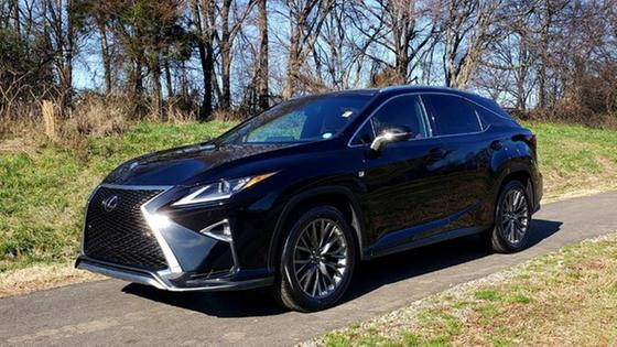 2017 Lexus RX 350 F Sport:24 car images available