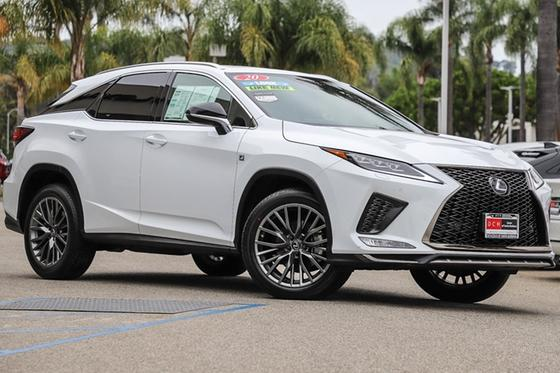 2020 Lexus RX 350 F Sport:24 car images available