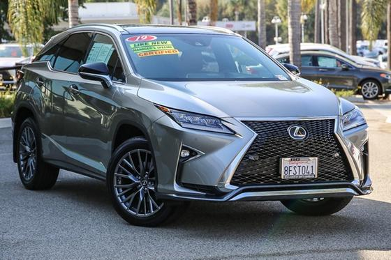 2019 Lexus RX 350 F Sport:24 car images available