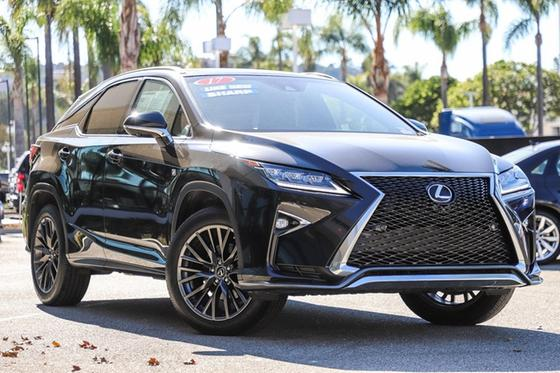 2017 Lexus RX 350 F Sport:23 car images available