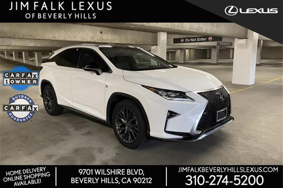 2017 Lexus RX 350 F Sport:10 car images available