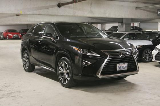 2017 Lexus RX 350:18 car images available