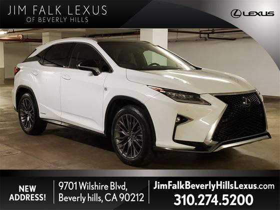 2017 Lexus RX 450h F Sport:24 car images available