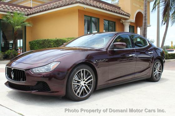2014 Maserati Ghibli :24 car images available