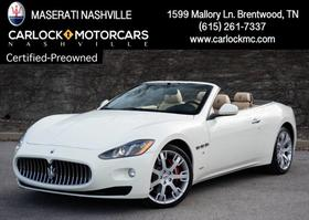2015 Maserati GranTurismo Convertible:24 car images available
