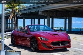 2017 Maserati GranTurismo Convertible:24 car images available