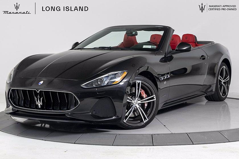 2018 Maserati GranTurismo Convertible:24 car images available