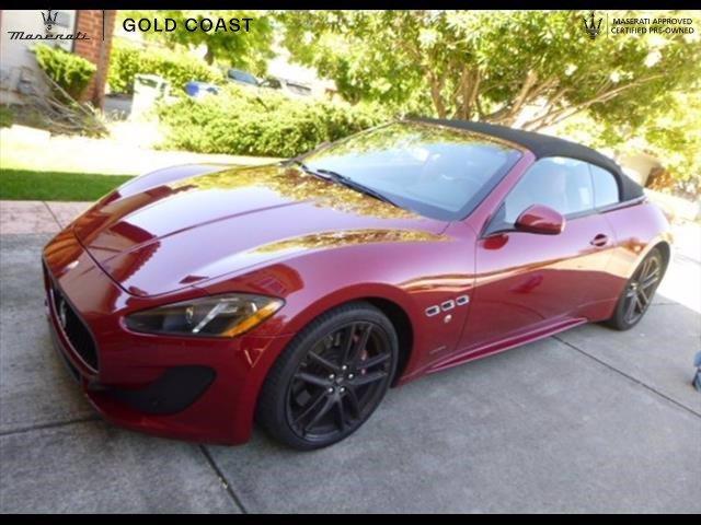 2017 Maserati GranTurismo Convertible:7 car images available