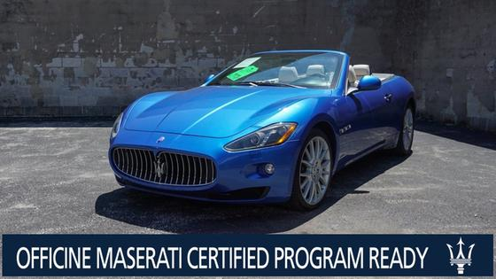2014 Maserati GranTurismo GT Convertible:10 car images available