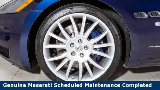 2015 Maserati GranTurismo GT Convertible