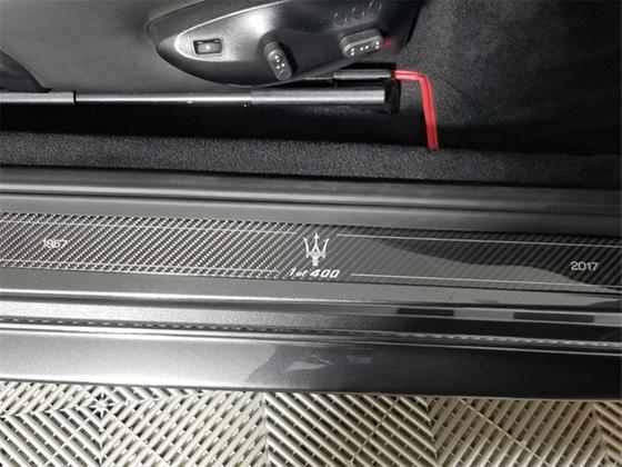 2017 Maserati GranTurismo MC Centennial