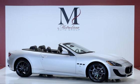 2014 Maserati GranTurismo S Convertible:24 car images available