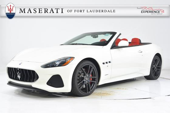 2018 Maserati GranTurismo S Convertible:18 car images available
