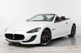 2013 Maserati GranTurismo S Convertible:24 car images available
