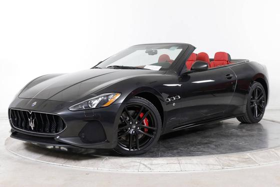 2018 Maserati GranTurismo S Convertible:14 car images available