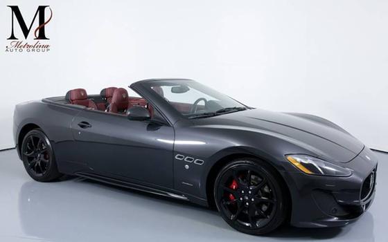 2015 Maserati GranTurismo S Convertible:24 car images available