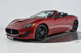 2017 Maserati GranTurismo S Convertible:24 car images available